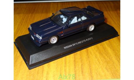 Nissan Skyline GTS-R (R31), Kyosho, 1:43, металл, масштабная модель, 1/43