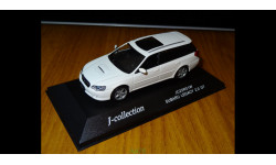 Subaru Legacy Wagon 2.0 GT, White, J-Collection, 1:43, металл, масштабная модель, scale43