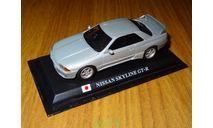 Nissan Skyline GT-R R32, Del Prado, Silver, металл, 1:43, масштабная модель, Del Prado (серия Городские автомобили), scale43