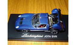 Lamborghini Jota SVR, Blue, Kyosho, 1:43, металл, масштабная модель, scale43