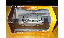 Honda Fit Aria, Satin Silver, Ebbro, 1:43, металл, масштабная модель, scale43