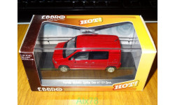 Honda Mobilio Spike, Milano Red, Ebbro, 1:43, металл, масштабная модель, scale43