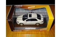 Honda Inspire, White Pearl, Ebbro, 1:43, металл, масштабная модель, scale43