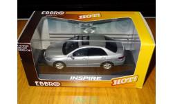 Honda Inspire, Satin Silver, Ebbro, 1:43, металл, масштабная модель, 1/43