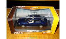 Honda Inspire, Blue Pearl, Ebbro, 1:43, металл, масштабная модель, scale43