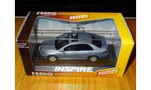 Honda Inspire, Metro Silver, Ebbro, 1:43, металл, масштабная модель, scale43