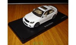 Mercedes-Benz C Brabus Bullit V12 W204, White, Schuco, 1:43, смола, масштабная модель, 1/43