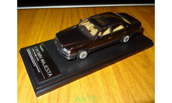 Toyota Crown Majesta 1997 C Type V8 4000, Red, Hi-Story, 1:43, смола