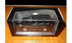 Toyota Land Cruiser Prado 120, Black Pearl, Minichamps, 1:43, металл, масштабная модель, scale43