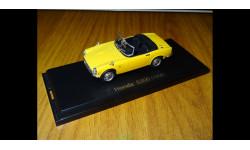 Honda S800 (1966), 1:43, металл, масштабная модель, Norev, 1/43