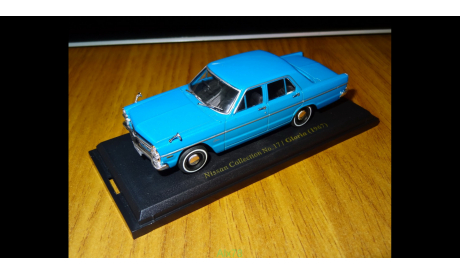 Nissan Gloria A30 (1967), Японская журналка Nissan Collection №17, 1:43, металл, масштабная модель, Norev, scale43