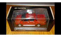 Toyota Hilux 2007, Red, Minichamps, 1:43, металл, масштабная модель, 1/43
