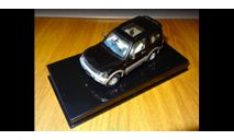 Mitsubishi Pajero 1999 WSB, 2 Doors, Black, AutoArt, металл, 1:43, масштабная модель, scale43