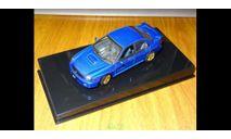 Subaru Impreza WRX Sti, 2001, Blue, Autoart, 1:43, Металл, масштабная модель, scale43