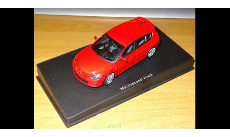 Mazda Axela Mazdaspeed, AutoArt, 1:43, металл, Очень редкая, масштабная модель, scale43