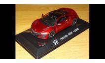 Honda NSX 2016, 1:43, металл, масштабная модель, scale43, Altaya
