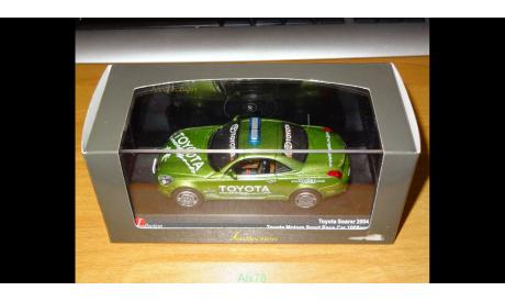 Toyota Soarer 2004, Toyota Motors Sport Pace Car, J-Collection, 1:43, металл, масштабная модель, Kyosho, scale43