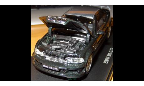 BMW M3 GTR Street Version, Green, Kyosho, 1:43, металл, масштабная модель, 1/43