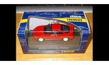 Honda Integra Type-R, Red, Ebbro, 1:43, Металл, масштабная модель, 1/43