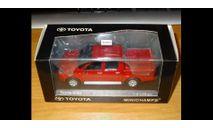 Toyota Hilux 2007, Red, Minichamps, 1:43, металл, масштабная модель, scale43