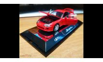 Toyota Supra, Red, Kato, 1:43, кузов пластик, дно металл, масштабная модель, scale43