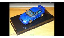 Subaru Impreza WRX Sti, 2003, Blue, Autoart, 1:43, Металл, масштабная модель, scale43