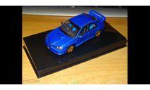 Subaru Impreza WRX Sti, 2006, Blue, Autoart, 1:43, Металл, масштабная модель, scale43