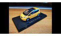 Honda Fit, Sky roof, 2007, Yellow, Ebbro, металл, 1:43, масштабная модель, scale43