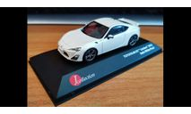 Toyota 86 GT Limited 2012, White Pearl, J-Collection, 1:43, металл, масштабная модель, scale43