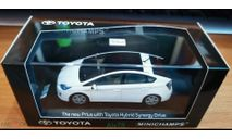 Toyota Prius, Minichamps, 1:43, металл, масштабная модель, scale43