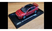 Mitsubishi Lancer Evolution X Final Edition, Vitesse, 1:43, металл, масштабная модель, scale43