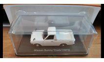 Nissan Sunny Truck (1971), Norev, 1:43, металл, масштабная модель, scale43, Hachette