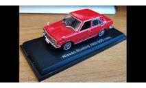 Nissan Bluebird 1600 SSS 1969, Norev, 1:43, металл, масштабная модель, scale43, Hachette