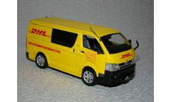 Toyota Hiace Van (2007) DHL Macau 1/43