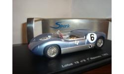 LOTUS 19 n6 NASSAU 1962, масштабная модель, 1:43, 1/43, Spark