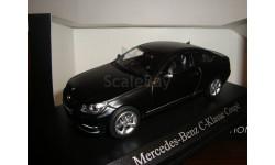 MERCEDES  BENZ C KLASSE COUPE MATT BLACK, масштабная модель, Mercedes-Benz, Norev, 1:43, 1/43