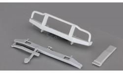 Сборная модель (кит) Комплект для внедорожного тюнинга (бампера, шноркель) с низким кенгурятником от Gorky Models в 1:43