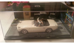 Toyota 2000 GT Cabrio James Bond white
