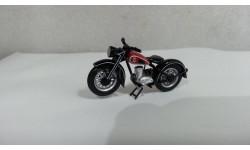 Мотоцикл DKW RT 125 (с красным) от производителя Schuco в 1:43 масштабе, масштабная модель мотоцикла, 1/43