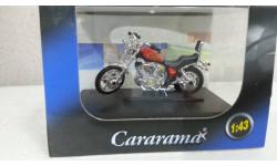 Мотоцикл Yamaha XV1000 VIRAGO (красный) от производителя Cararama/Hongwell, масштабная модель мотоцикла, Bauer/Cararama/Hongwell, scale43