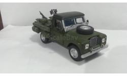 Land Rover Series III Pickup Army от производителя Cararama/Hongwell в масштабе 1:43, масштабная модель, Bauer/Cararama/Hongwell, scale43