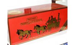 Passenger coach & Horses 1820 от производителя Matchbox, масштабная модель, scale43