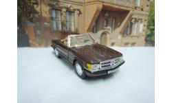 Mercedes-Benz 560 SL (R107) Cabrio от производителя Cararama/Hongwell в масштабе 1:43, масштабная модель, Bauer/Cararama/Hongwell, scale43