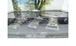 De Lorean DMC 12 Time Machine set Back to the Future Part 1-3 от производителя Vitesse, масштабная модель, 1:43, 1/43