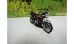 Мотоцикл Kawasaki Z400FX(черный) от производителя UCC в 1:43 масштабе, масштабная модель мотоцикла, 1/43
