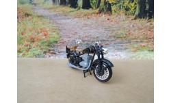 Мотоцикл DKW RT 125 от производителя DDR в 1:43 масштабе, масштабная модель мотоцикла, 1/43