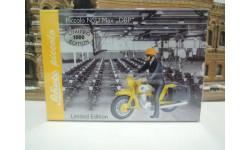 Мотоцикл NSU MAx ''DBP' от производителя Schuco в 1:43 масштабе, масштабная модель мотоцикла, 1/43