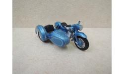 Мотоцикл NSU Max mit Steib Beiwagen (голубой) от производителя Schuco в 1:43 масштабе, масштабная модель мотоцикла, scale43