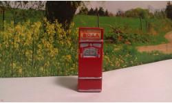 Автомат Газированой воды АТ-144 красный в заявленном 1:43 масштабе, элементы для диорам