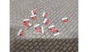 Дипломатический флаг России РФ на модели автомобилей в масштабе 1:43, запчасти для масштабных моделей, scale43